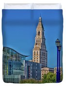 Downtown Hartford Duvet Cover
