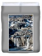 Great Falls Of The Potomac Duvet Cover