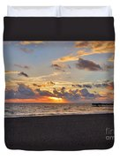 14- Juno Beach Pier Duvet Cover
