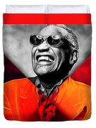 Ray Charles Collection Duvet Cover