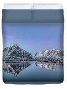 Reine, Lofoten - Norway Duvet Cover
