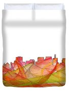 San Francisco California Skyline Duvet Cover
