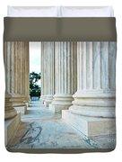 Supreme Court Building Washington Dc Duvet Cover