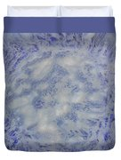 14. V1 Blue And White Splash Glaze Painting Duvet Cover