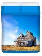 Vintage Grain Elevator Duvet Cover
