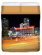 1405 Milwaukee Public Market Duvet Cover