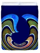 1408 Abstract Thought Duvet Cover