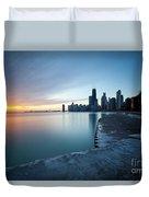 1415 Chicago Duvet Cover