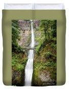 1416 Multnomah Falls Duvet Cover