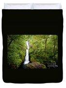 1418 Bridal Veil Falls Duvet Cover