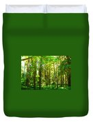 Nature Landscape Illumination Duvet Cover