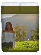 Golden Hour Senior  Duvet Cover