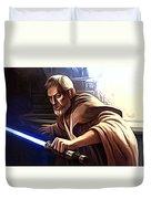 Jedi Star Wars Art Duvet Cover