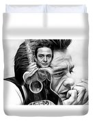 Johnny Cash Collection Duvet Cover