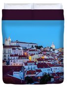 Lisbon, Portugal Duvet Cover