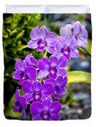 Orchids Kauai Duvet Cover