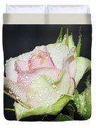 Pink Rose Duvet Cover