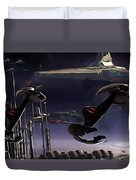 Star Wars Episode 6 Poster Duvet Cover