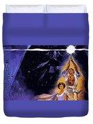 Star Wars Poster Art Duvet Cover