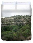 Texas Scenic Landscape Duvet Cover