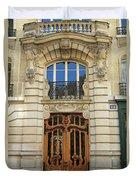 151 Rue De Grenelle Paris Duvet Cover