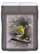 1575 - Pine Warbler Duvet Cover