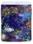 16-1 Blue Space Duvet Cover