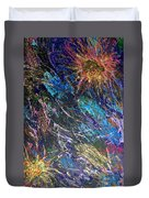 16-4 Space Explosion Canvas Duvet Cover