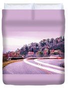 Autumn Season On Blue Ridge Parkway Duvet Cover