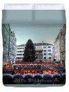 Innsbruck Austria Duvet Cover
