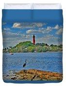 16- Jupiter Lighthouse Duvet Cover