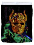 Mask. The Sons Of The Harpy. Fantasy. Duvet Cover