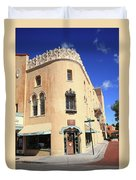 Santa Fe - Adobe Building Duvet Cover