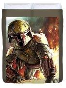 Star Wars Episode 3 Art Duvet Cover