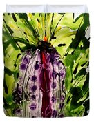 The Divine Flower Duvet Cover