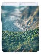 Western Usa Pacific Coast In California Duvet Cover