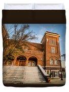 16th Street Baptist Church Steps In Birmingham Alabama Duvet Cover