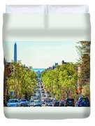 16th Street Northwest Duvet Cover