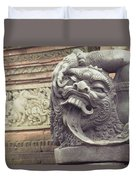 Bali Sculpture Duvet Cover