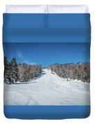 Beautiful Nature And Scenery Around Snowshoe Ski Resort In Cass  Duvet Cover
