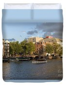 Canals Of Amsterdam Duvet Cover