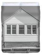 17 - Petunia -  Flower Cottages Series Duvet Cover