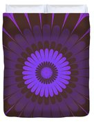 Psycho Hypno Floral Pattern Duvet Cover