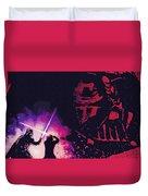 Star Wars On Art Duvet Cover