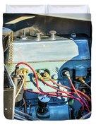 1743.034 1930 Mg Engine Duvet Cover