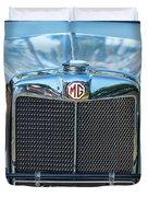 1743.040 1930 Mg Classic Car Duvet Cover