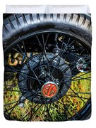 1743.051 1930 Mg Wheel Duvet Cover