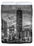 17th Street Dawn Atlantic Station Millennium Gate Art Duvet Cover