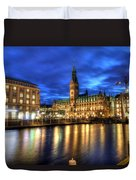 Hamburg Germany Duvet Cover