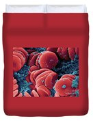 Human Red Blood Cells, Sem Duvet Cover